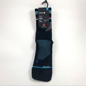 Mens Arizona Diamondbacks Stance Socks Size 9-12
